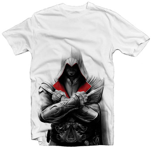Assassin's Creed: Brotherhood Ezio tričko - XL